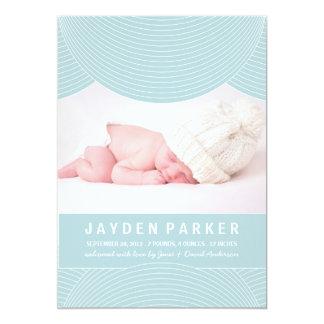BLUE RIPPLES | BIRTH ANNOUNCEMENT