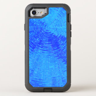 Blue Ripples OtterBox Defender iPhone 8/7 Case