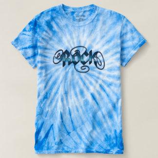 Blue Rock Music Tie-Dye T-Shirt
