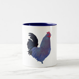 """"""" Blue Rooster """" # 2 Mug"""