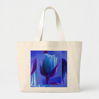 Blue Rose Delight Bag - Customizable Bag