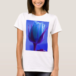 Blue Rose Delight I T-Shirt - Customizable