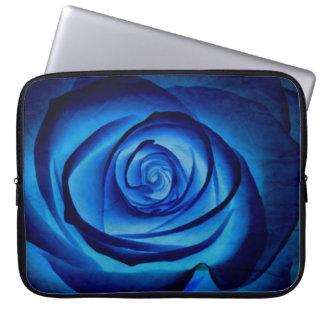 Blue Rose Laptop Sleeve