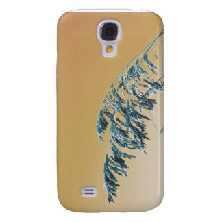 Blue Sea Oats Brown Orange sky picture Samsung Galaxy S4 Covers
