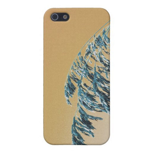 Blue Sea Oats Brown Orange sky picture Cases For iPhone 5