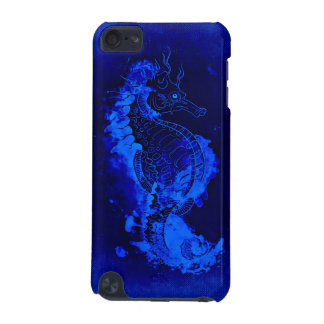 Blue Seahorse Painting iPod Touch (5th Generation) Covers