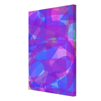 Blue Seaweed Stretched Canvas Prints