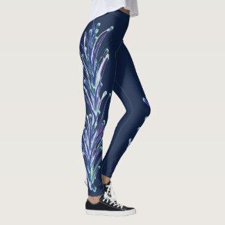 Blue Serenity Leggings