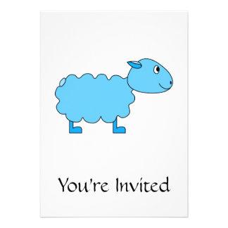 Blue Sheep. Personalized Invitation