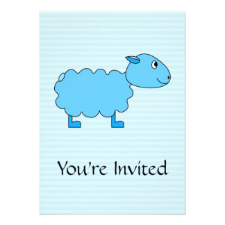 Blue Sheep Personalized Announcement