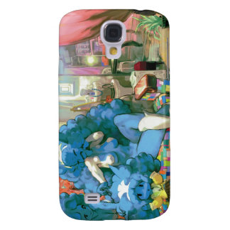 Blue Sisters Galaxy S4 Case