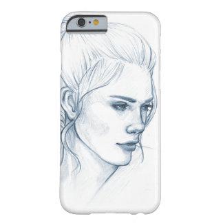 """""""Blue Sketch"""" Phone Case"""