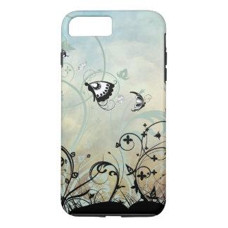 Blue Skies and Butterflies iPhone 8 Plus/7 Plus Case