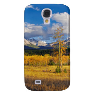 Blue skies and clouds above a meadow galaxy s4 case