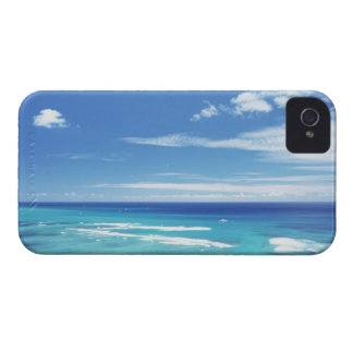 Blue sky and sea 17 iPhone 4 case