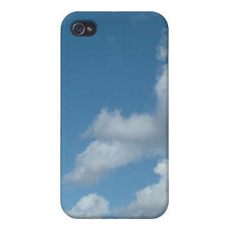 blue sky and white clouds iPhone 4/4S covers