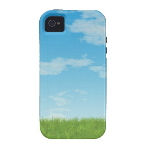Blue Sky iPhone 4/4S Cover