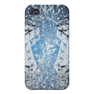 Blue Sky in Crystals Cases For iPhone 4