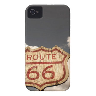Blue Sky's on Route 66 iPhone 4 Covers