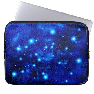 Blue Space Magic Laptop Sleeve