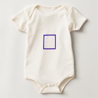 Blue Squared Baby Bodysuit