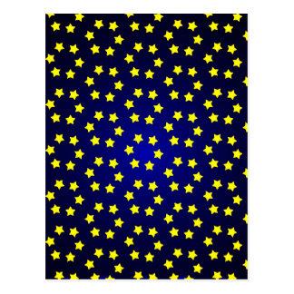 Blue Star Image Postcard