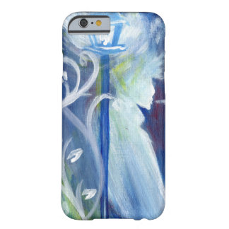 Blue Street Lamp Swirls and Profile Barely There iPhone 6 Case