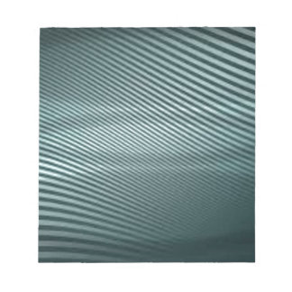 blue stripe design notepad