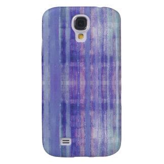 Blue Stripes Pattern Galaxy S4 Case