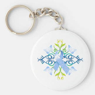 Blue Survivor Key Ring