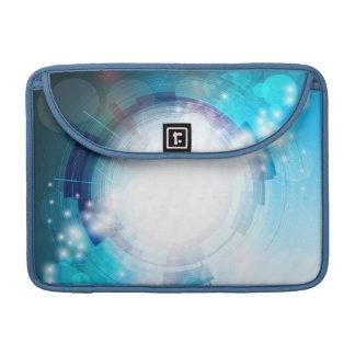 Blue Tech Design Sleeve For MacBooks