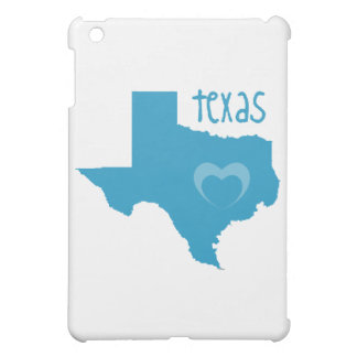 Blue Texas W/ Heart Cover For The iPad Mini