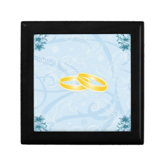 blue texture with nuptial faiths Gift Boxes
