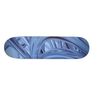 Blue Thrash Flux Custom Skateboard