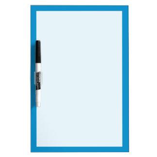 Blue Topaz Solid Color Dry-Erase Whiteboard