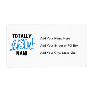 Blue Totally Awesome Nani T-shirts and Gifts