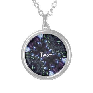 Blue Turquoise Fractal Necklaces