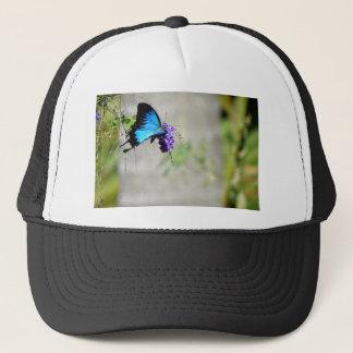 BLUE ULYSSES BUTTERFLY RURAL QUEENSLAND AUSTRALIA TRUCKER HAT