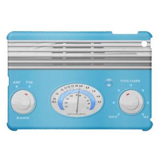 Blue Vintage Radio Case For The iPad Mini
