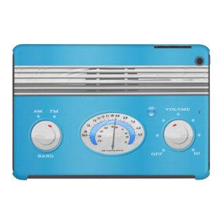 Blue Vintage Radio iPad Mini Case