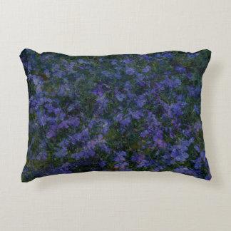 Blue Violet Garden Decorative Cushion