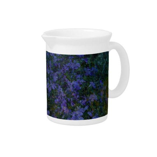 Blue Violet Garden Drink Pitchers