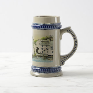 'Blue Water, Blue Peter' Stein 18 Oz Beer Stein