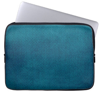 Blue Watercolor Laptop Sleeve