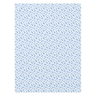 Blue Watercolor Spots Tablecloth 52'' x 70''