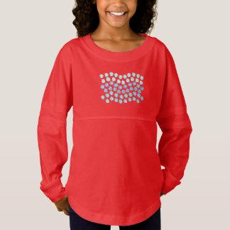 Blue Waves Girls' Spirit Jersey T-Shirt