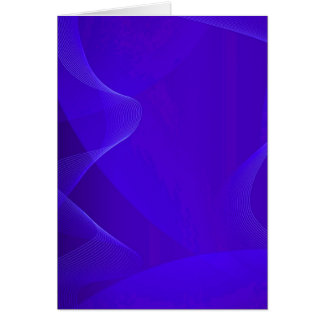 Blue Waves I Greeting Cards