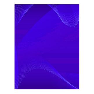 Blue Waves I Postcard