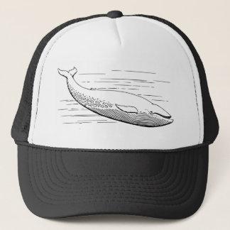 Blue Whale Trucker Hat