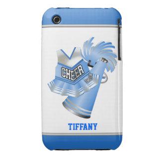 Blue & White Cheerleader Custom iPhone 3G Case iPhone 3 Covers